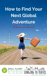 Copyright-Longing to Travel - Finding Your Next Global Adventure - Cover