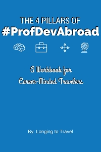 Copyright Longing to Travel - #ProfDevAbroad Workbook cover